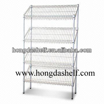 hanging wire shelf