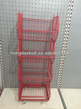 wire cage with wheels