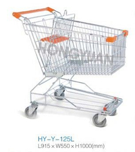 Good Quality 125L Asian Style Supermarket Trolley