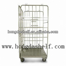 rolling cage cart